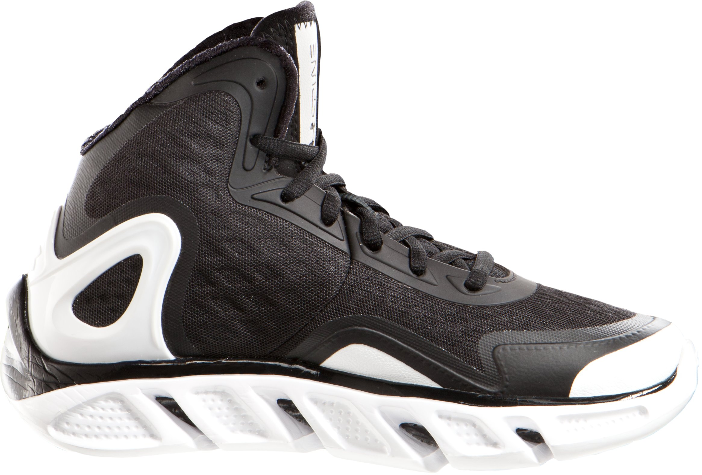 Boys' UA Spine™ Bionic Grade School Basketball Shoes, Black