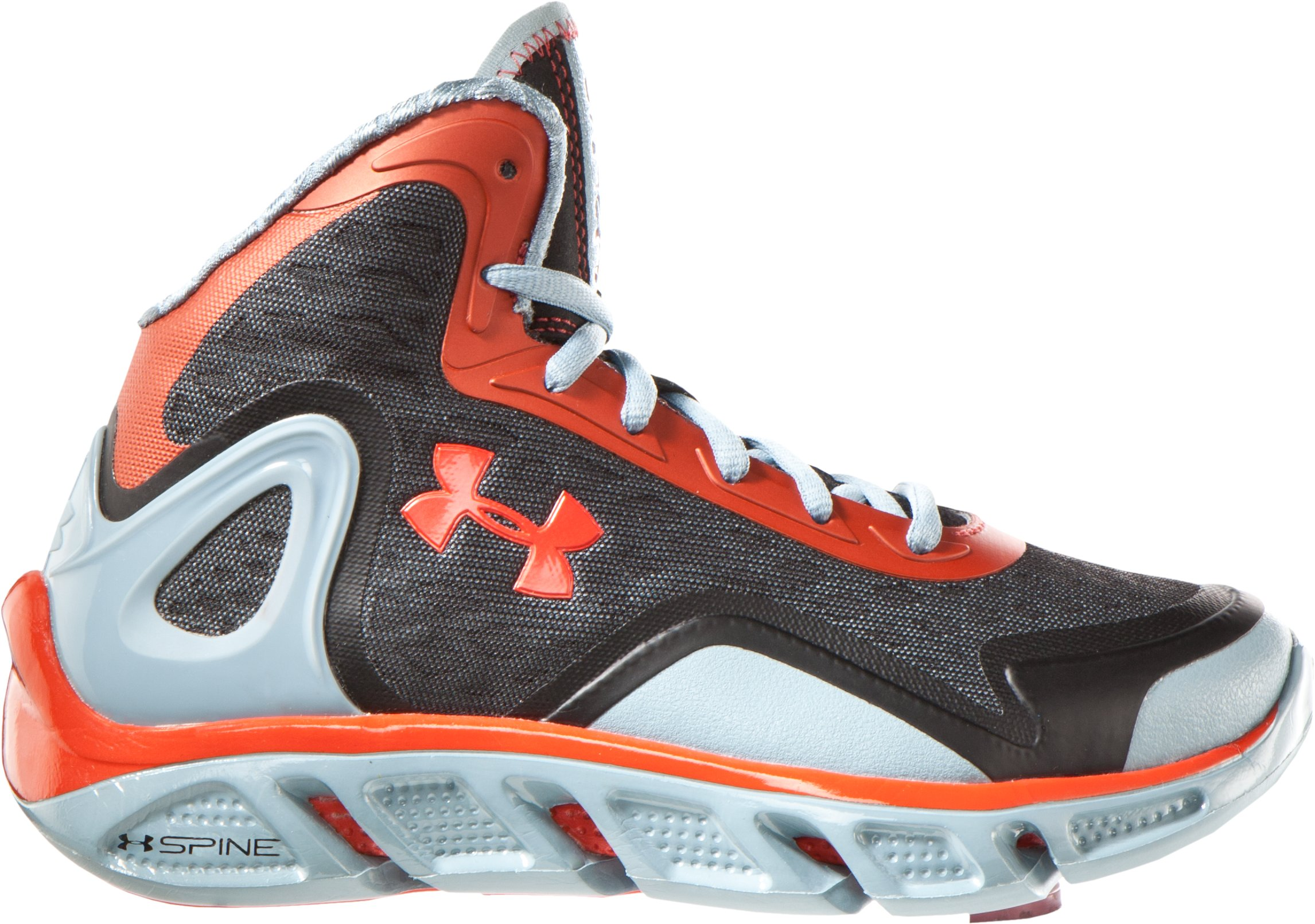 Boys' UA Spine™ Bionic Grade School Basketball Shoes, Solder