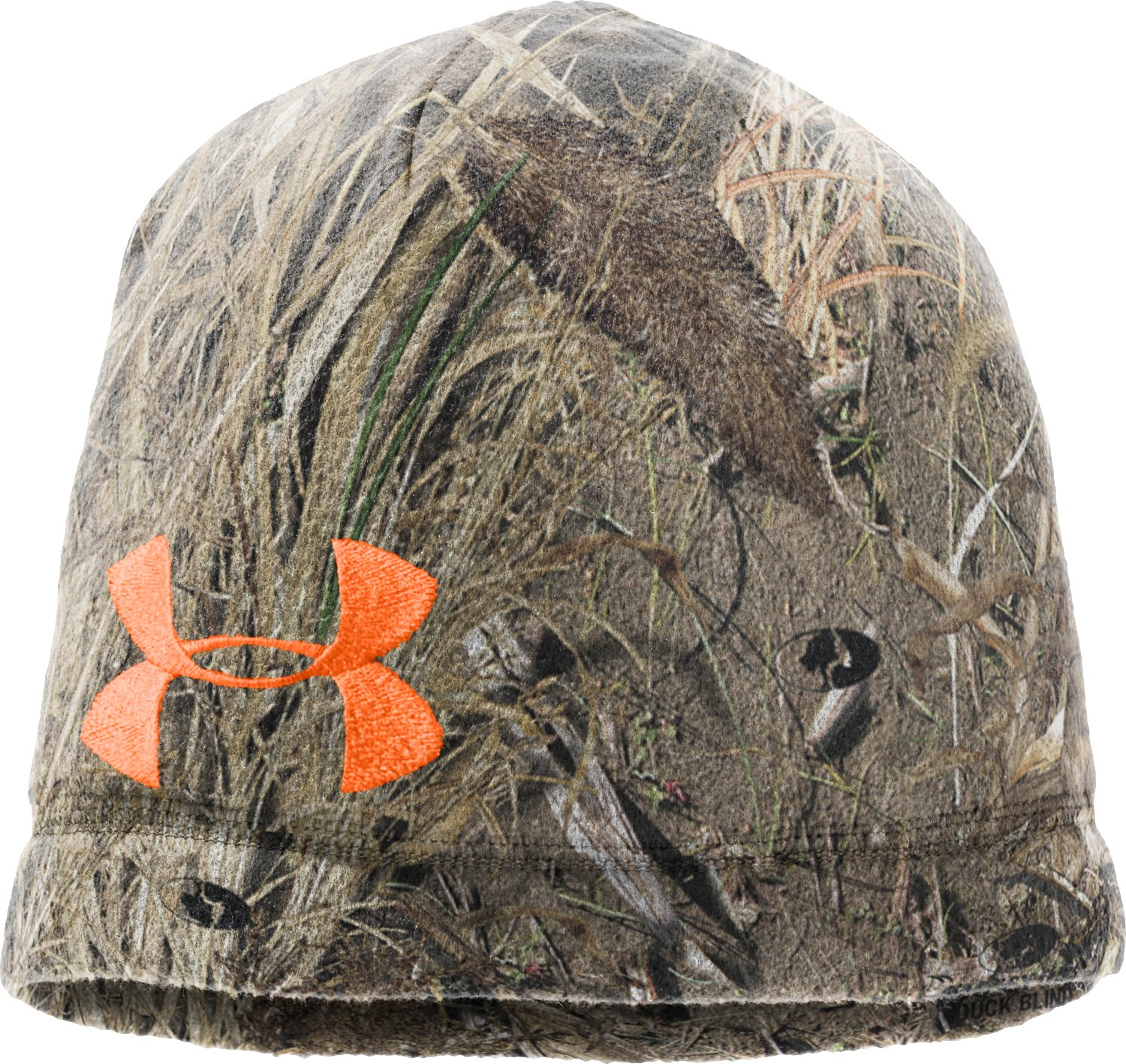 Men's UA Camo Fleece Beanie, Duck Blind