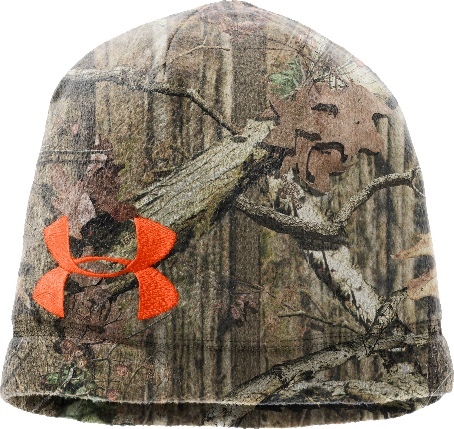 Men's UA Camo Fleece Beanie, Mossy Oak Break-Up Infinity