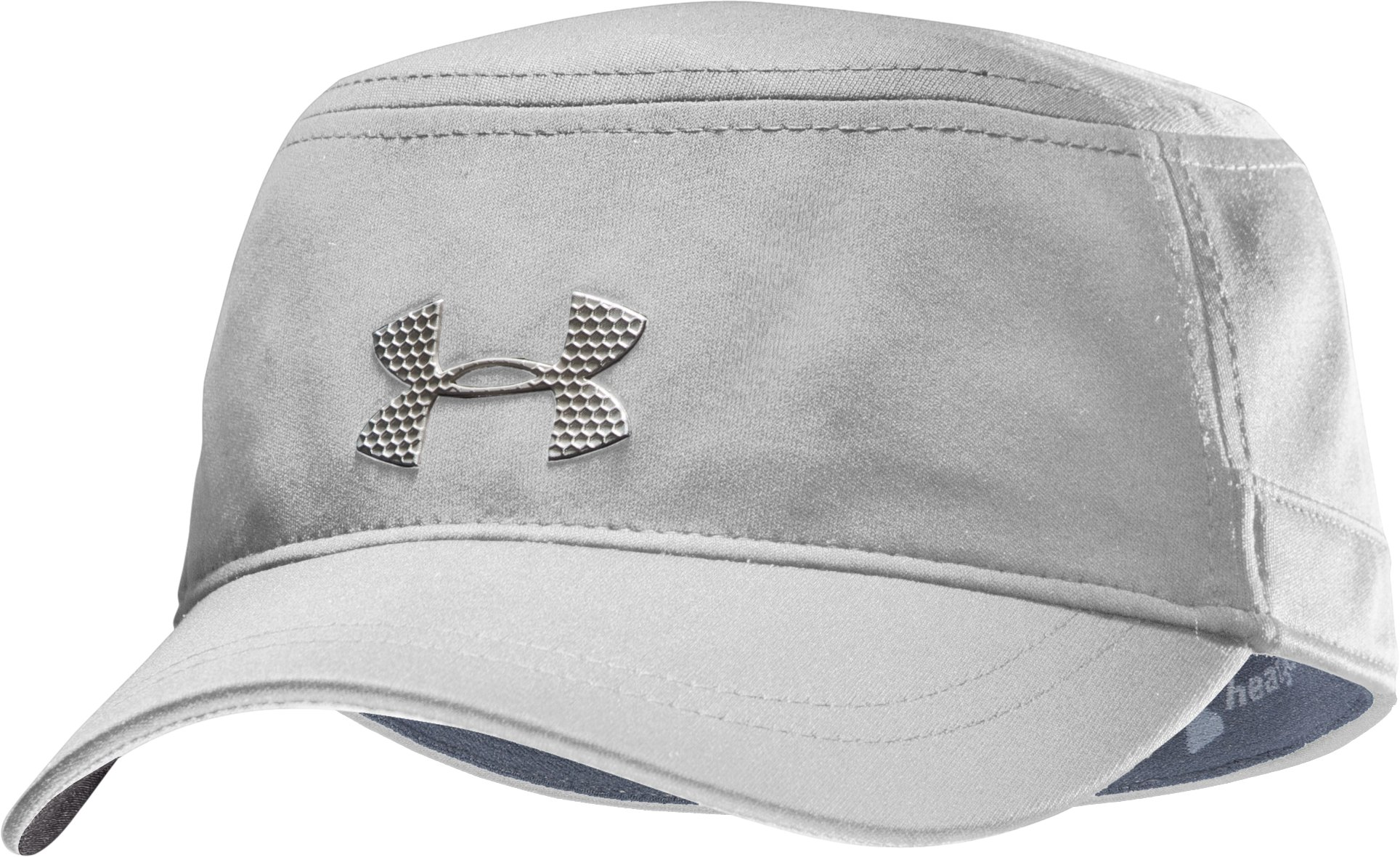Men's UA Military Stretch Fit Cap, White, zoomed image