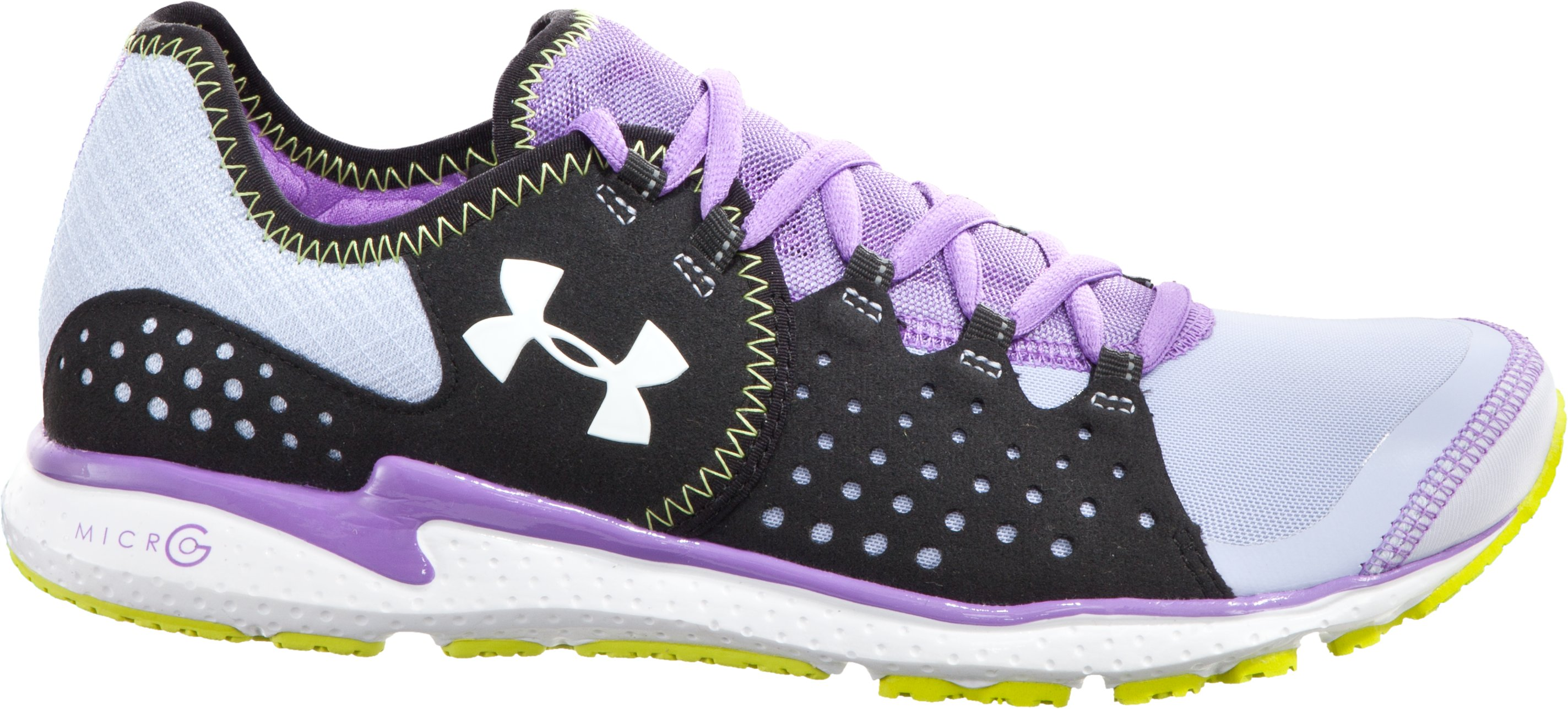 Women's UA Micro G® Mantis Running Shoe, Thistle, zoomed image