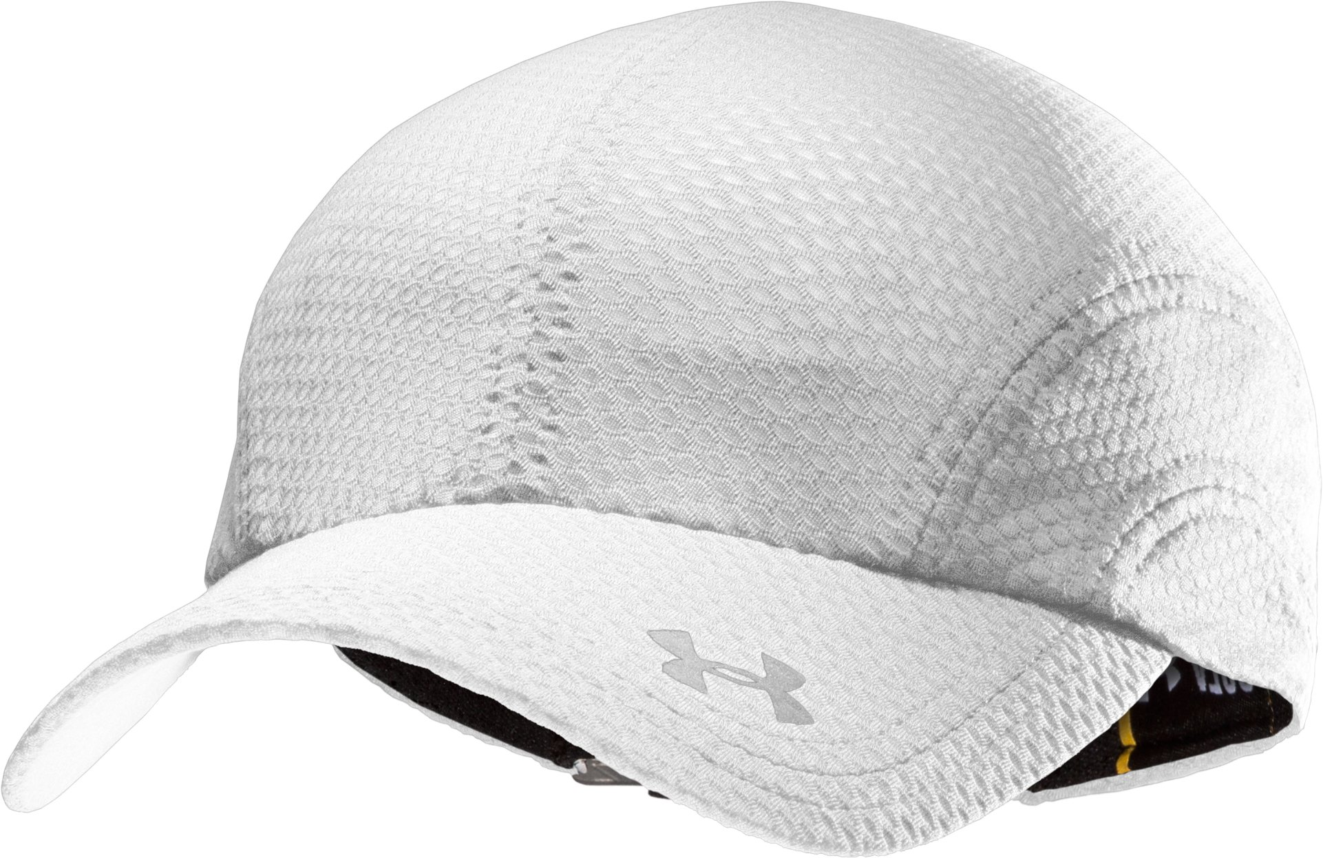 Women's UA Escape Adjustable Run Hat, White, zoomed image