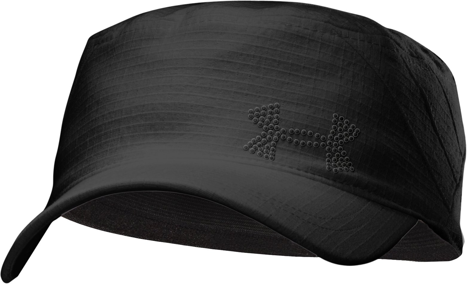 Women's UA Capri Military Cap, Black , zoomed image