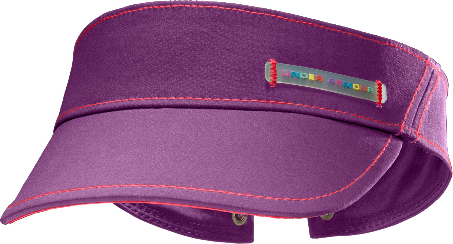 Girls' UA Fashion Visor, LAVISH, zoomed image