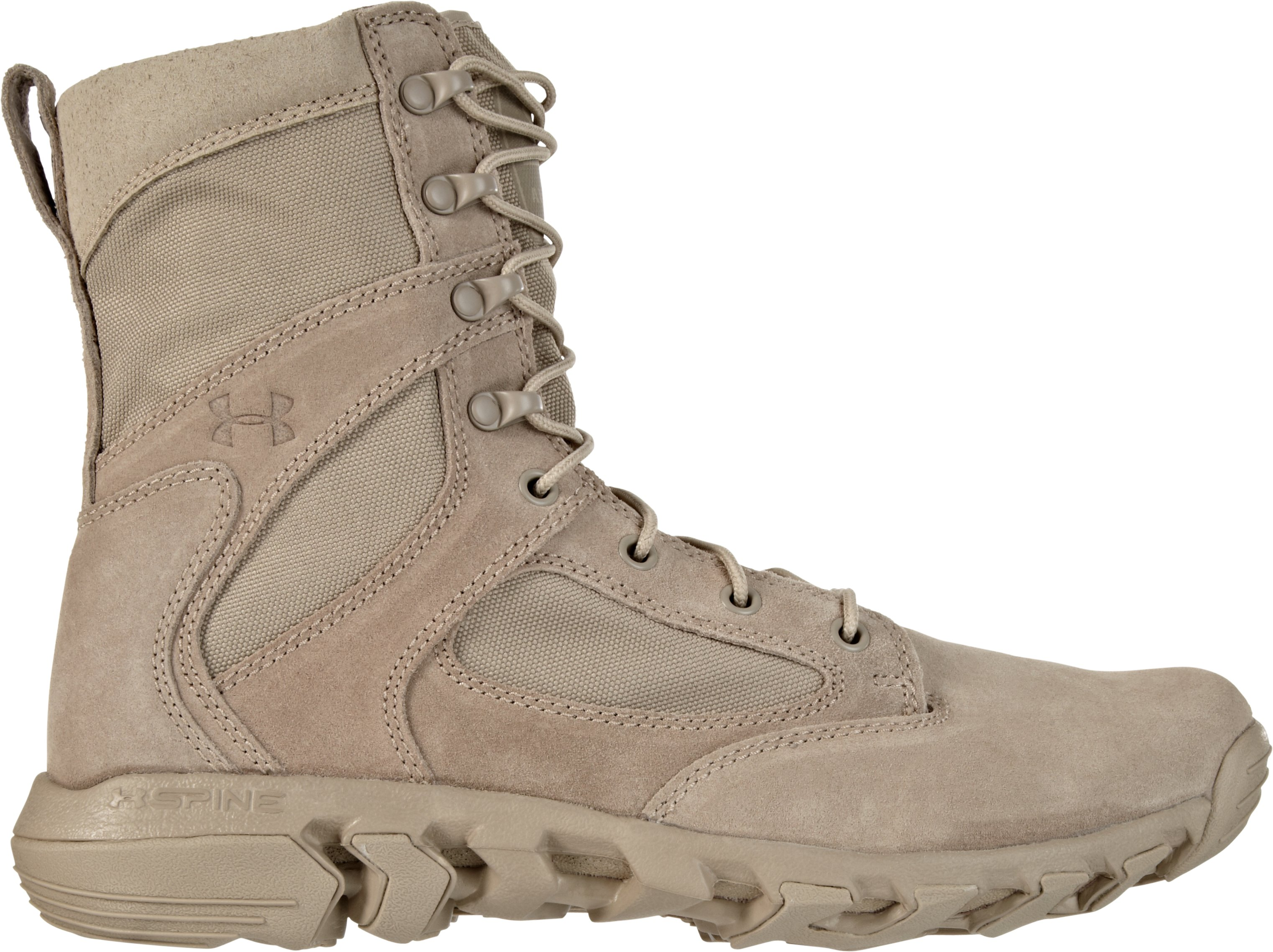 Men's UA Alegent Tactical Boots, Desert Sand