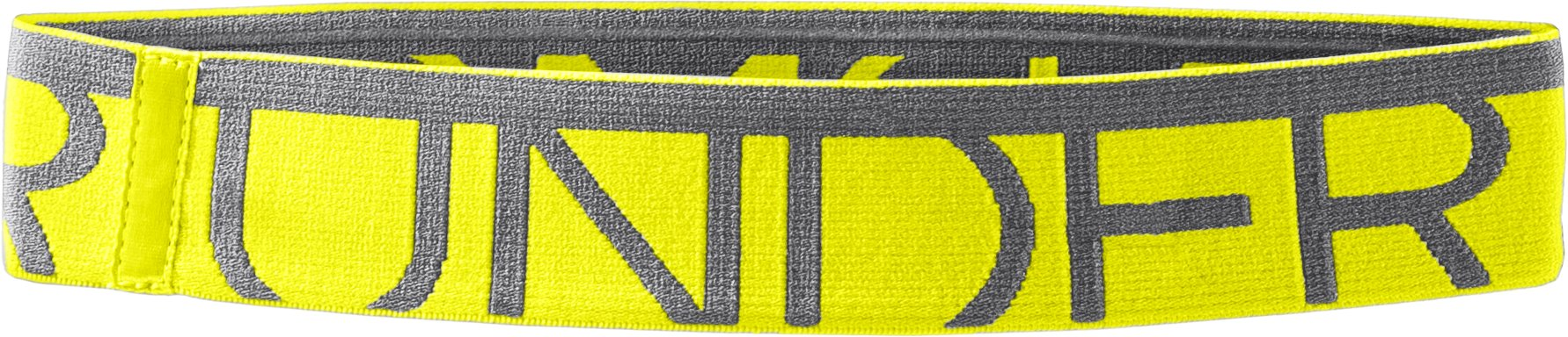 Women's UA Gotta Have It Headband, High-Vis Yellow