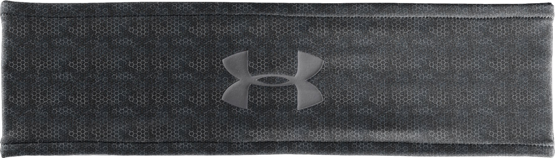 Women's UA Hot Shot Headband, Black ,