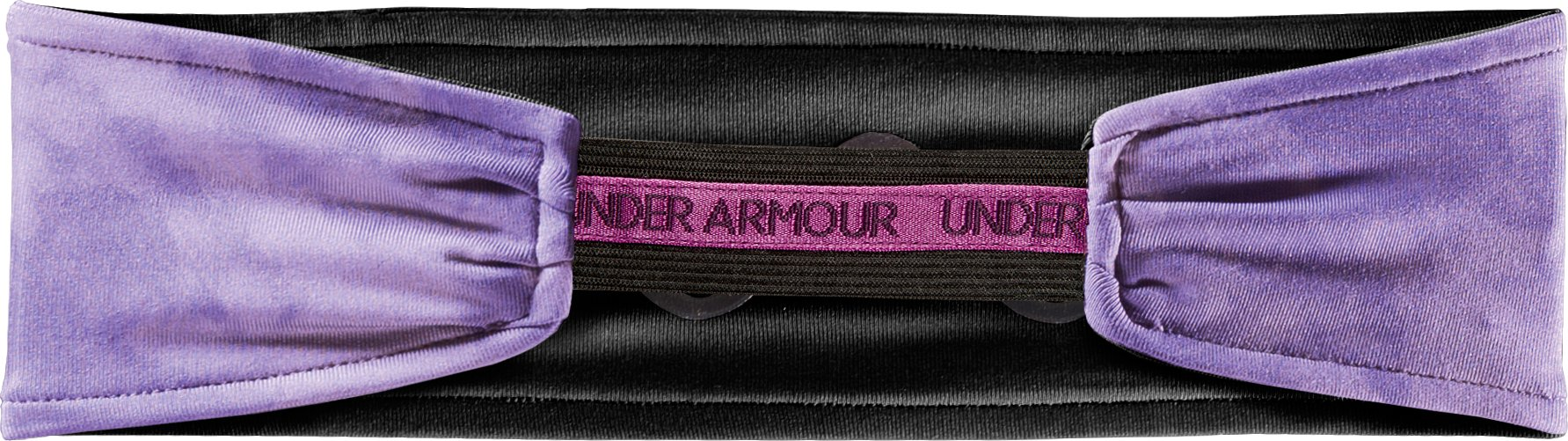 Women's UA Hot Shot Headband, Petunia,