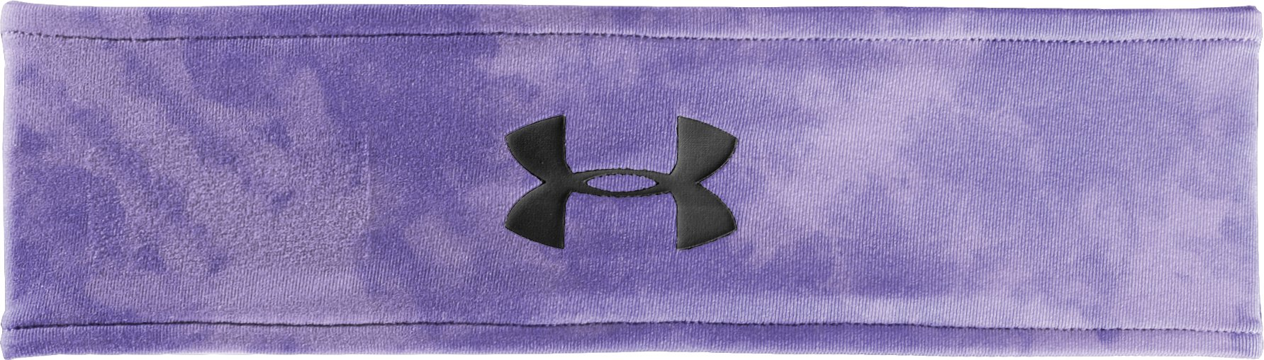 Women's UA Hot Shot Headband, Petunia