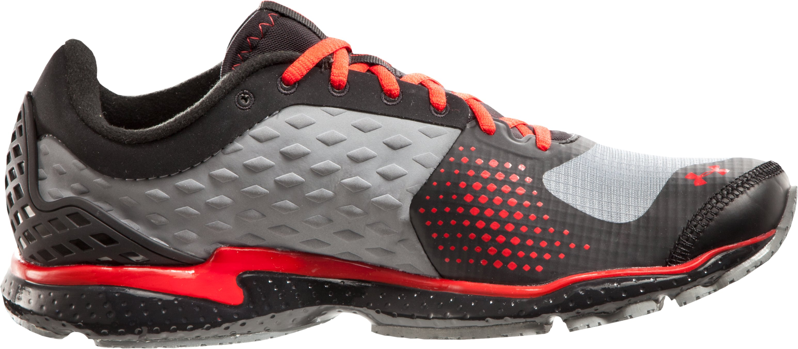 Men's UA Micro G® Storm Running Shoes, Graphite, zoomed image