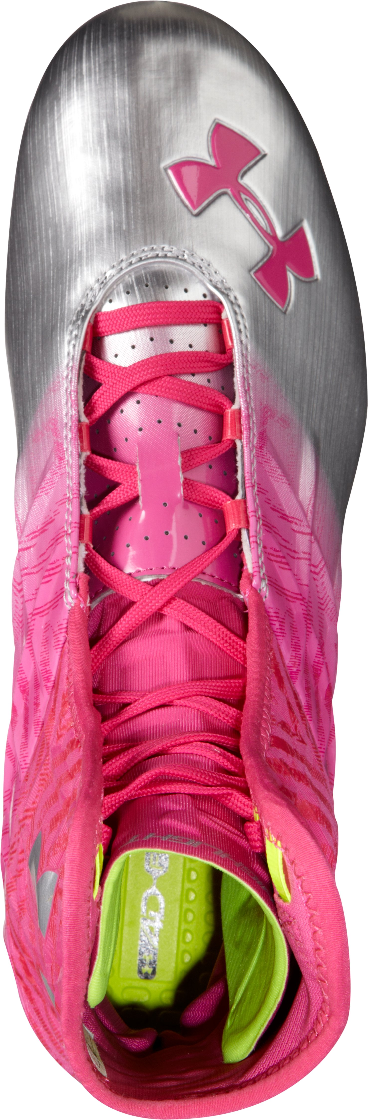 Men's UA Highlight MC Football Cleats — Special Edition, Tropic Pink, undefined