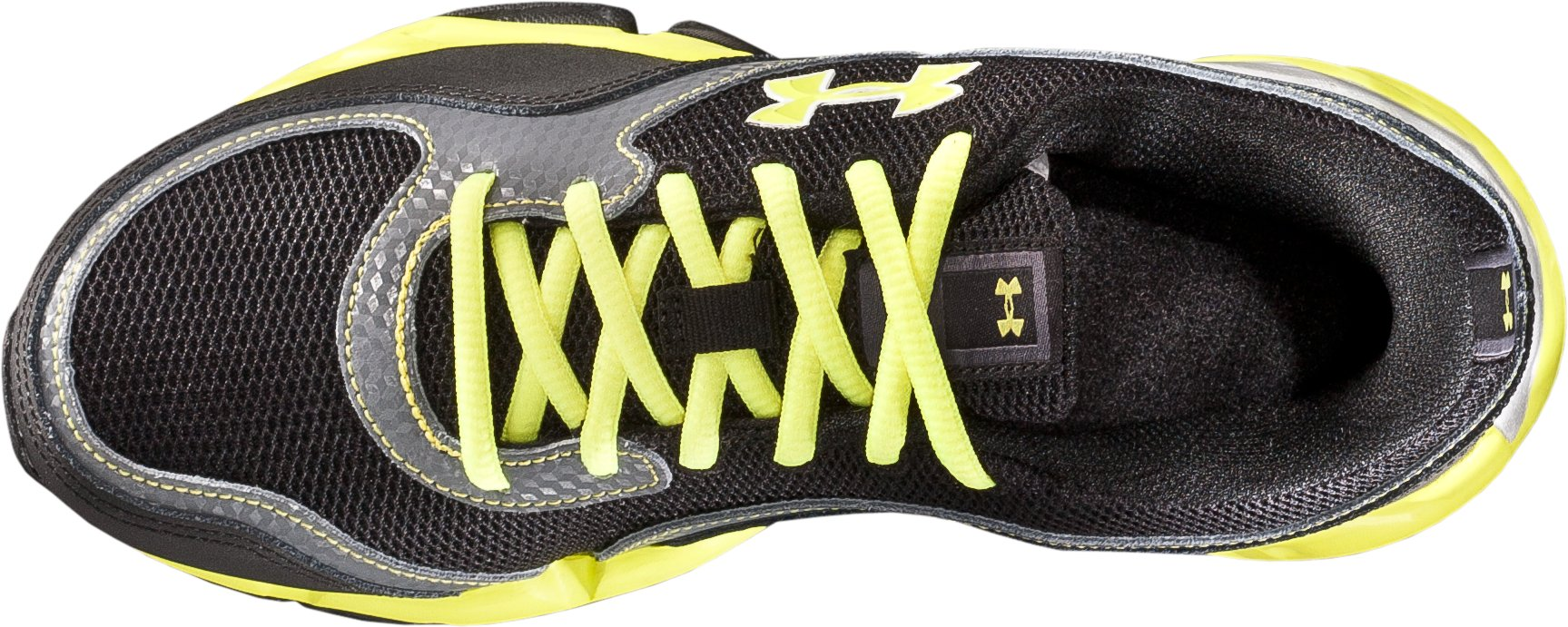 Boys' UA Strive II Glow Pre-School Training Shoes, Black