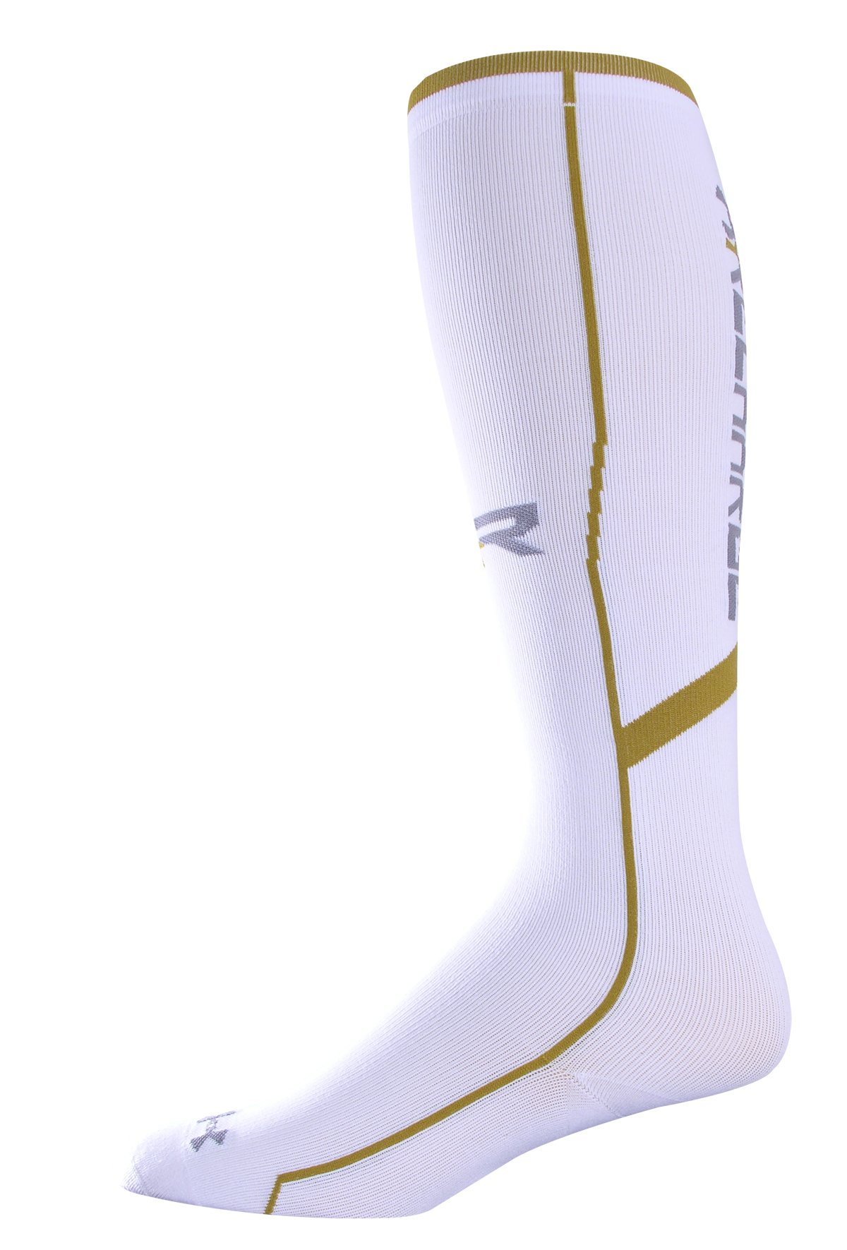 Men's UA Recharge® II Compression Socks, White, zoomed image