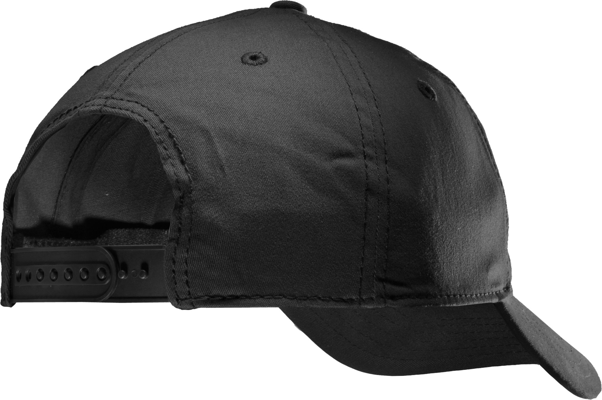 Men's UA Fish Hook Adjustable Cap, Black
