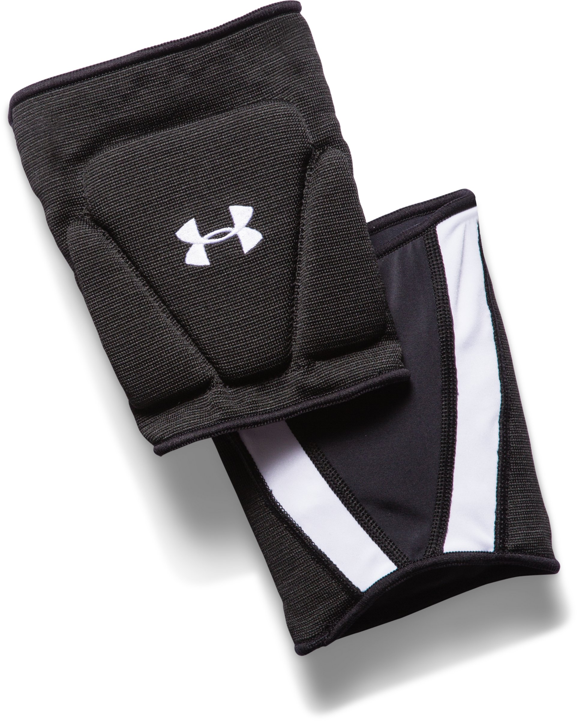 UA Strive Volleyball Knee Pads, Black , zoomed image