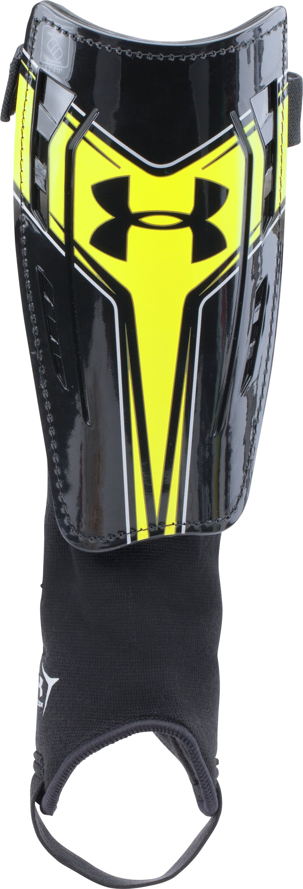 UA Challenge Shinguards, Black , zoomed image