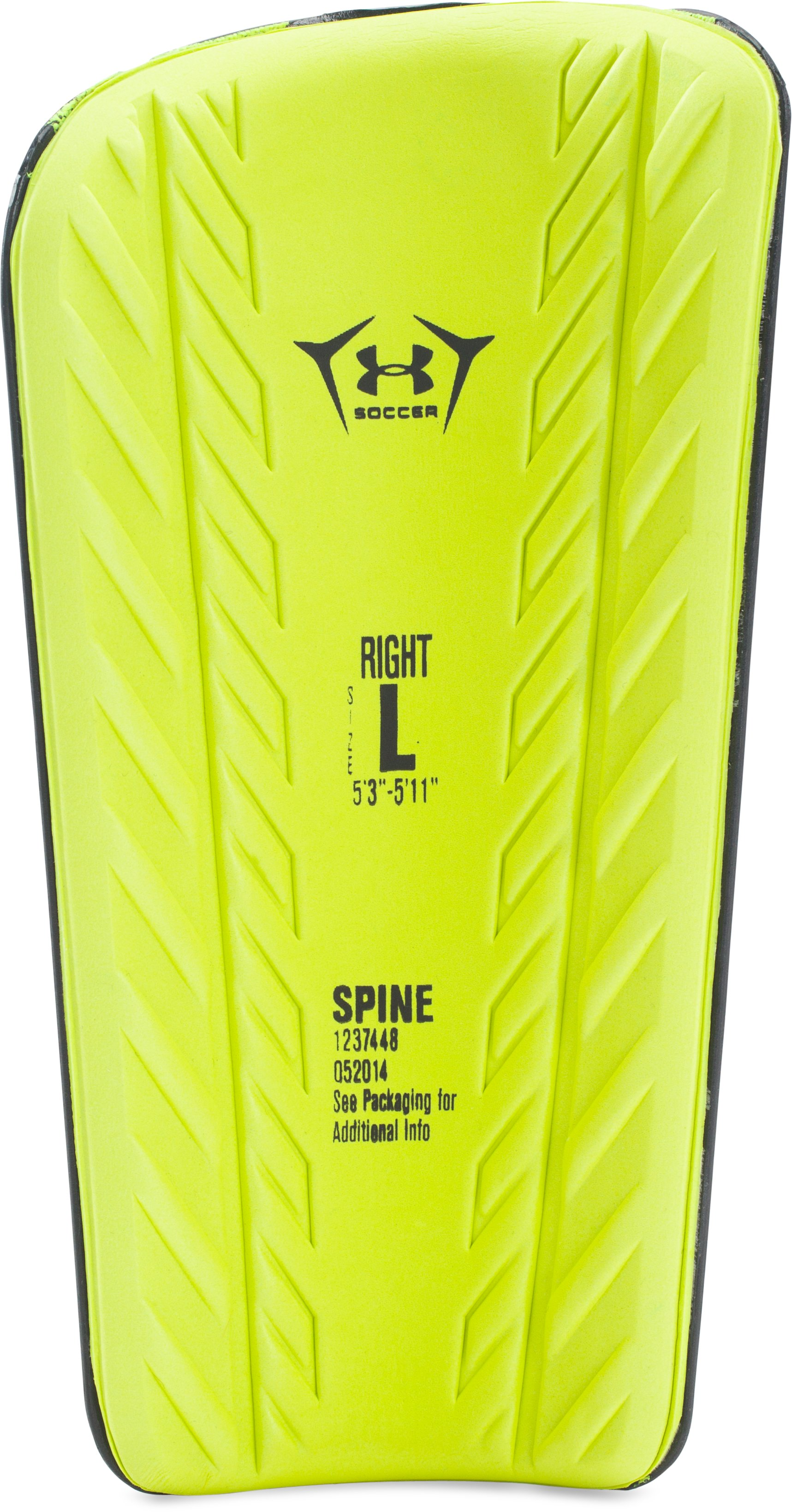 UA Spine Shinguard, Black