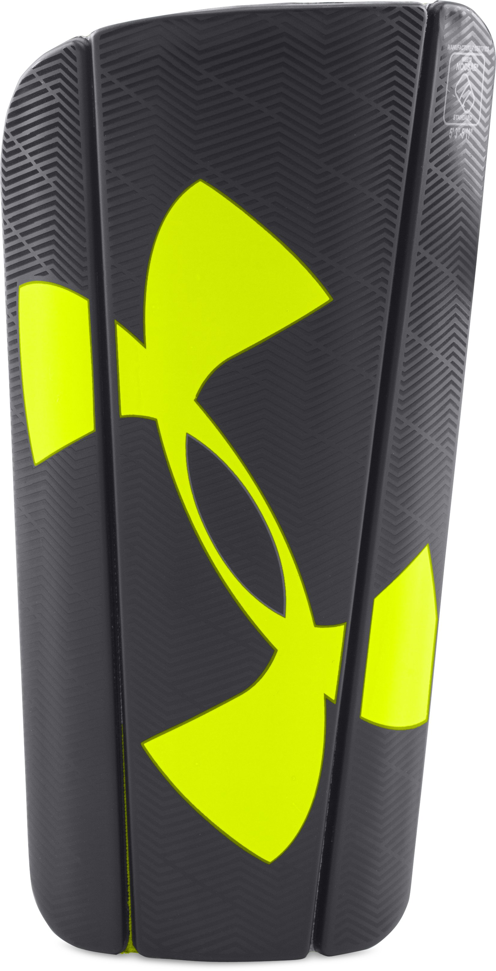 UA Spine Shin Guard, Black , undefined