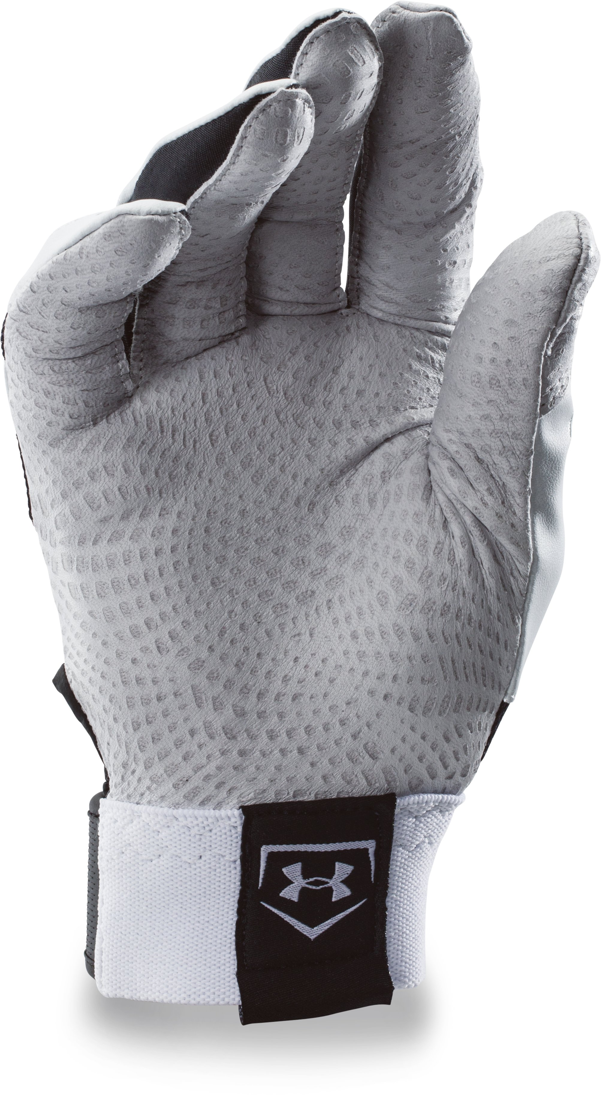Men's UA Yard Batting Gloves, Black