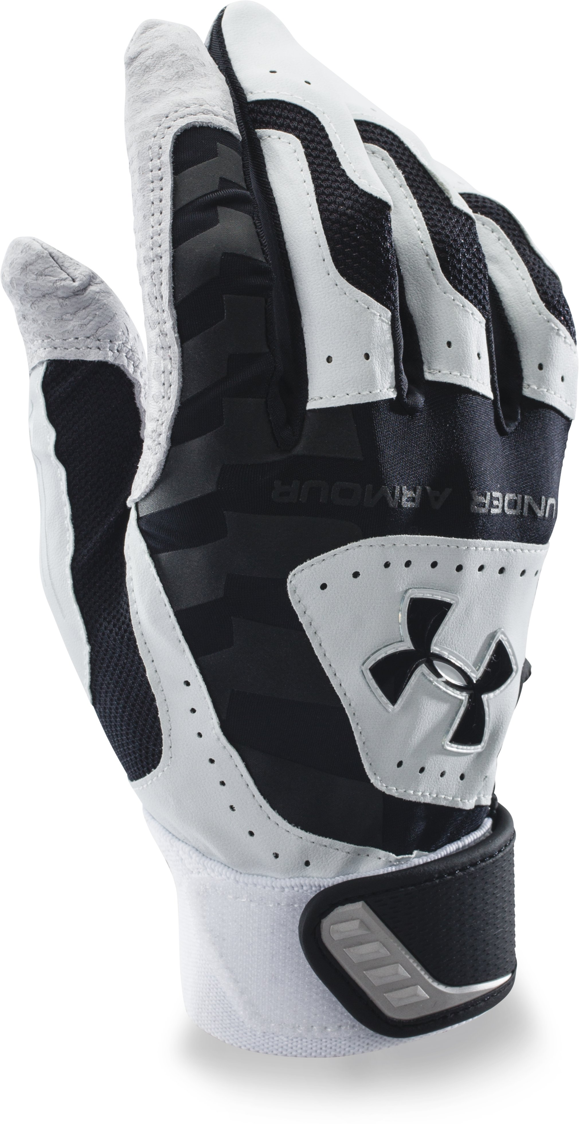 Men's UA Yard Batting Gloves, Black , zoomed image
