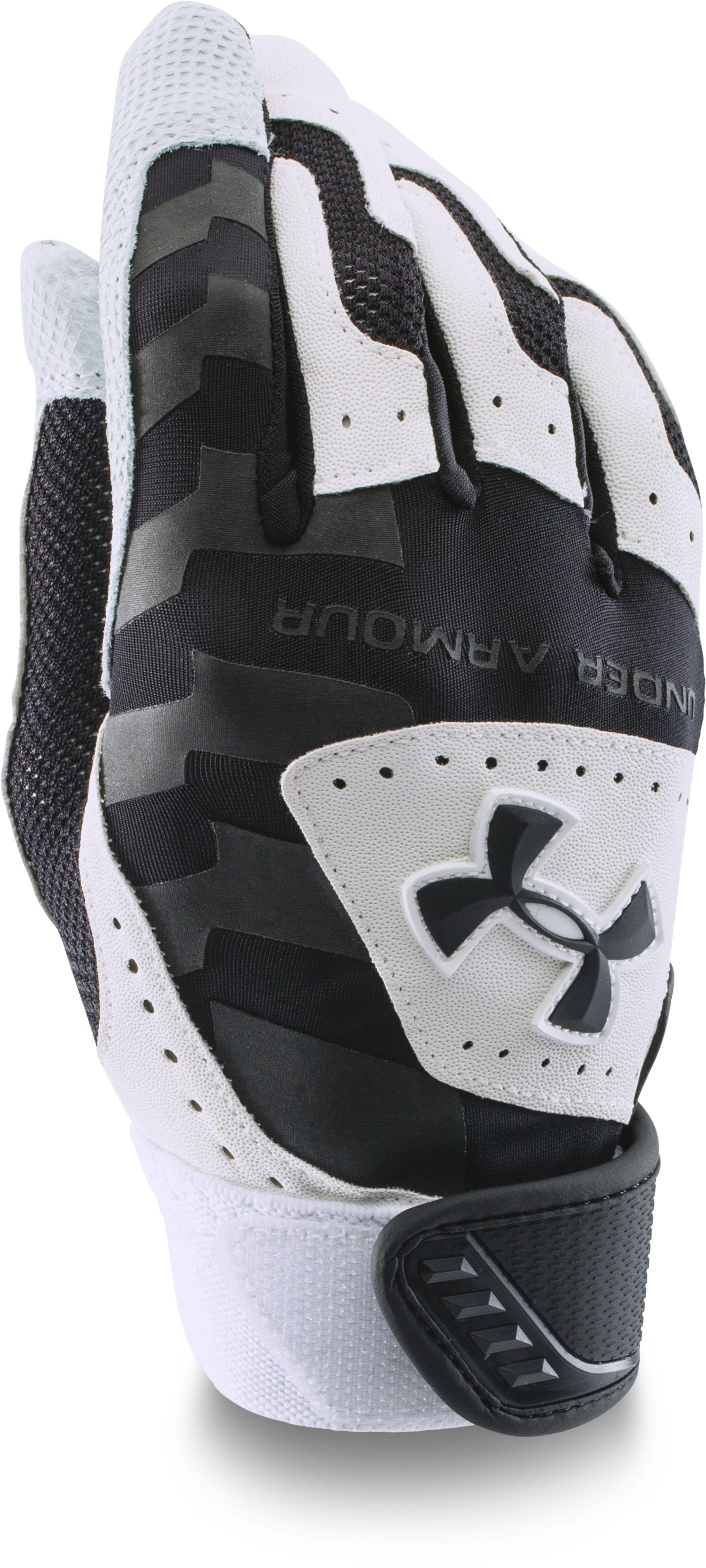 Kids' UA Yard Batting Gloves, Black