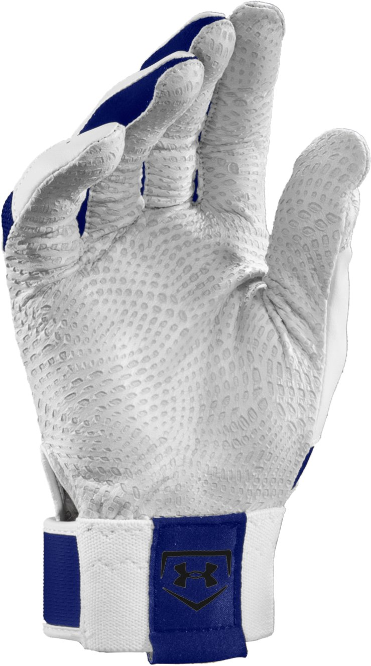 Kids' UA Yard Batting Gloves, Royal
