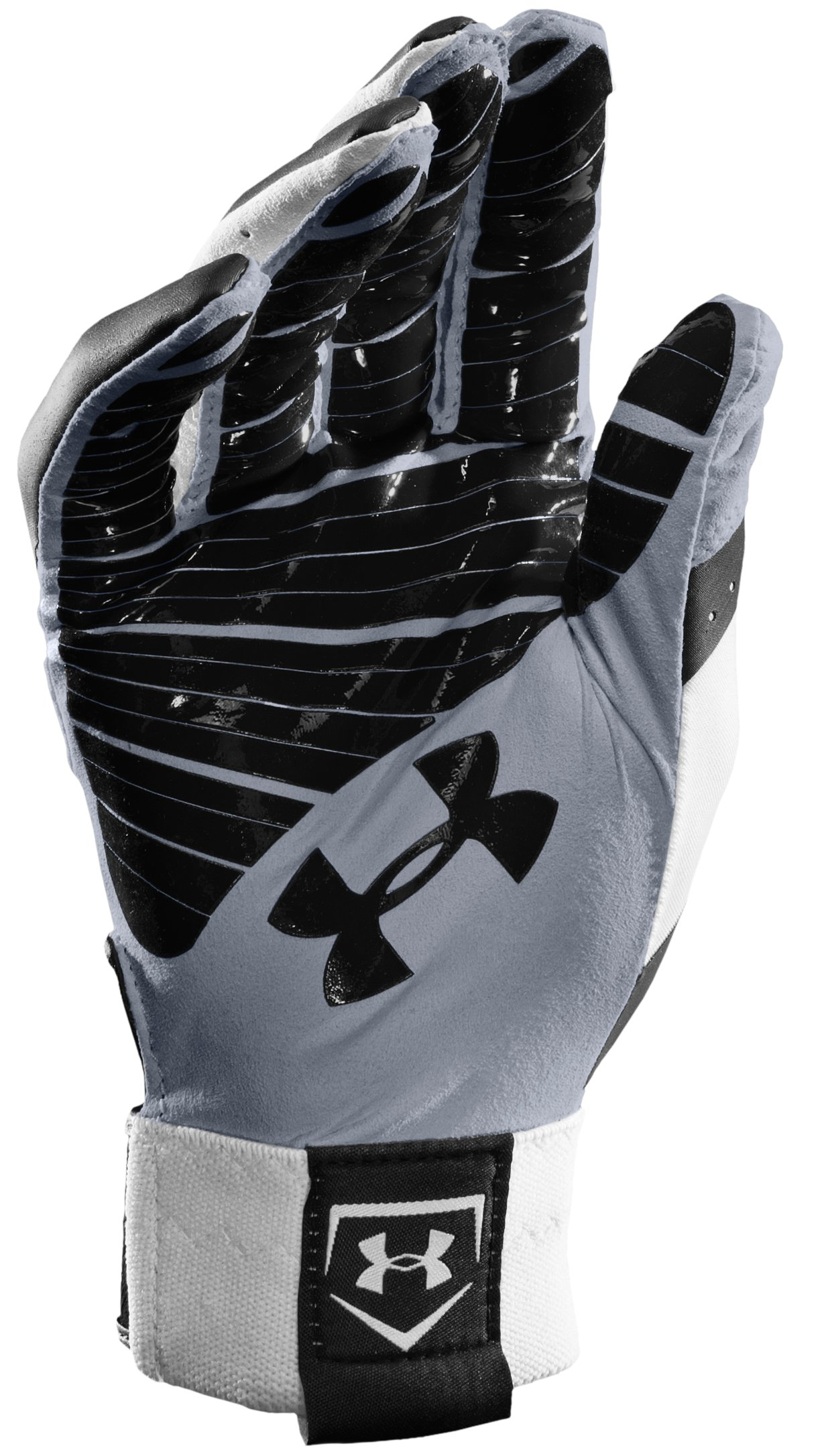 Men's UA Motive Baseball Gloves, Black