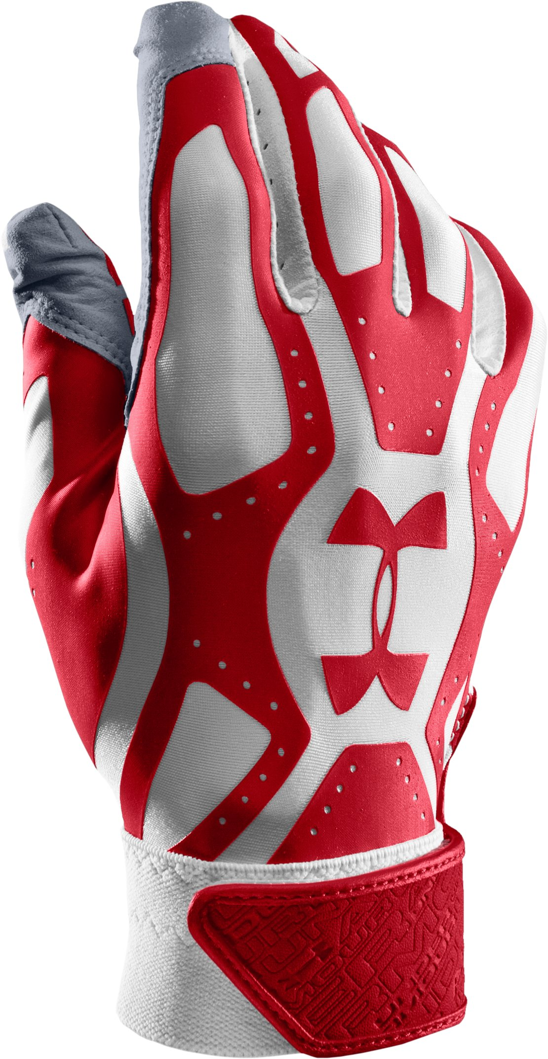 Men's UA Motive Baseball Gloves, Red