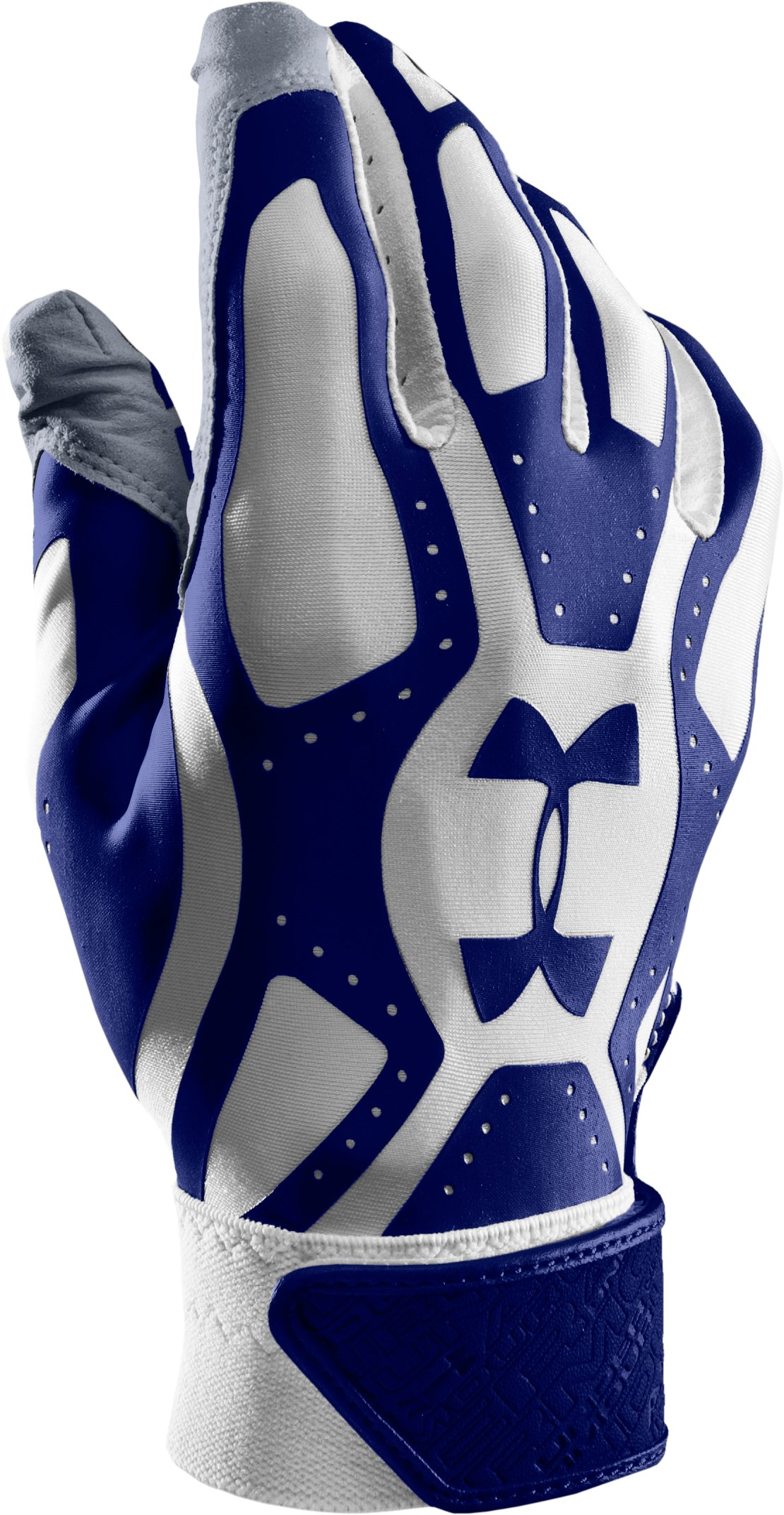 Boys' UA Motive Baseball Gloves, Royal, zoomed image