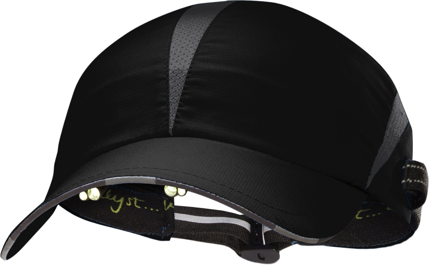 Men's UA Ultrathon Run Cap, Black , zoomed image