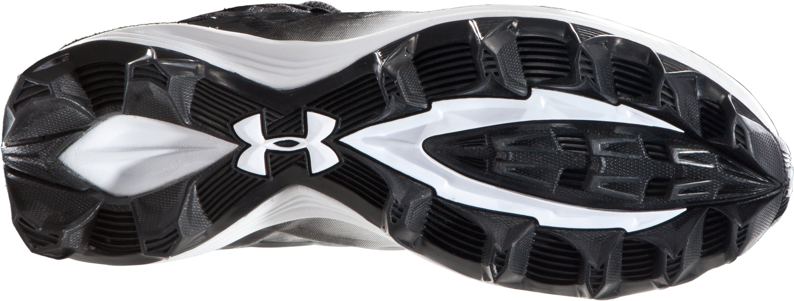 Boys' UA Highlight RM Cleats, Black , undefined