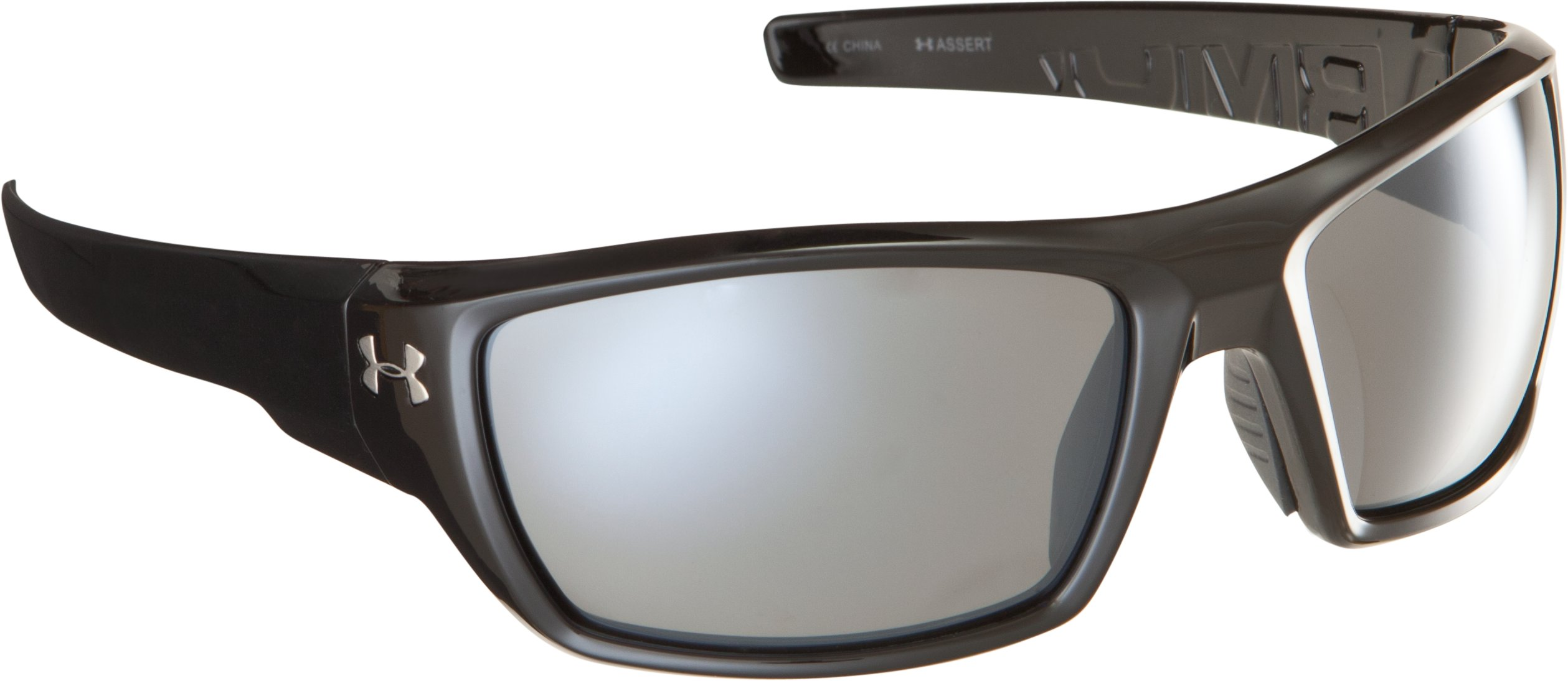 UA Assert Sunglasses, Shiny Black, zoomed image