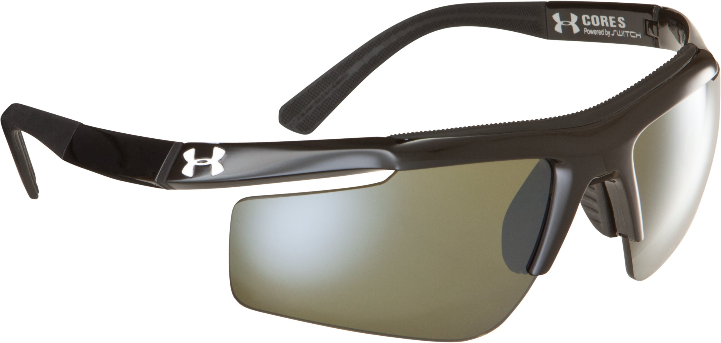 UA Core Switch Sunglasses, Shiny Black