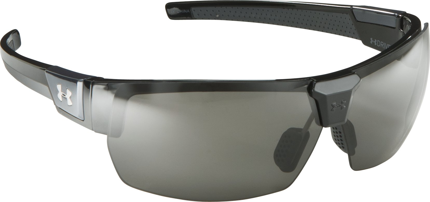 UA Drive Sunglasses, Shiny Black, zoomed image