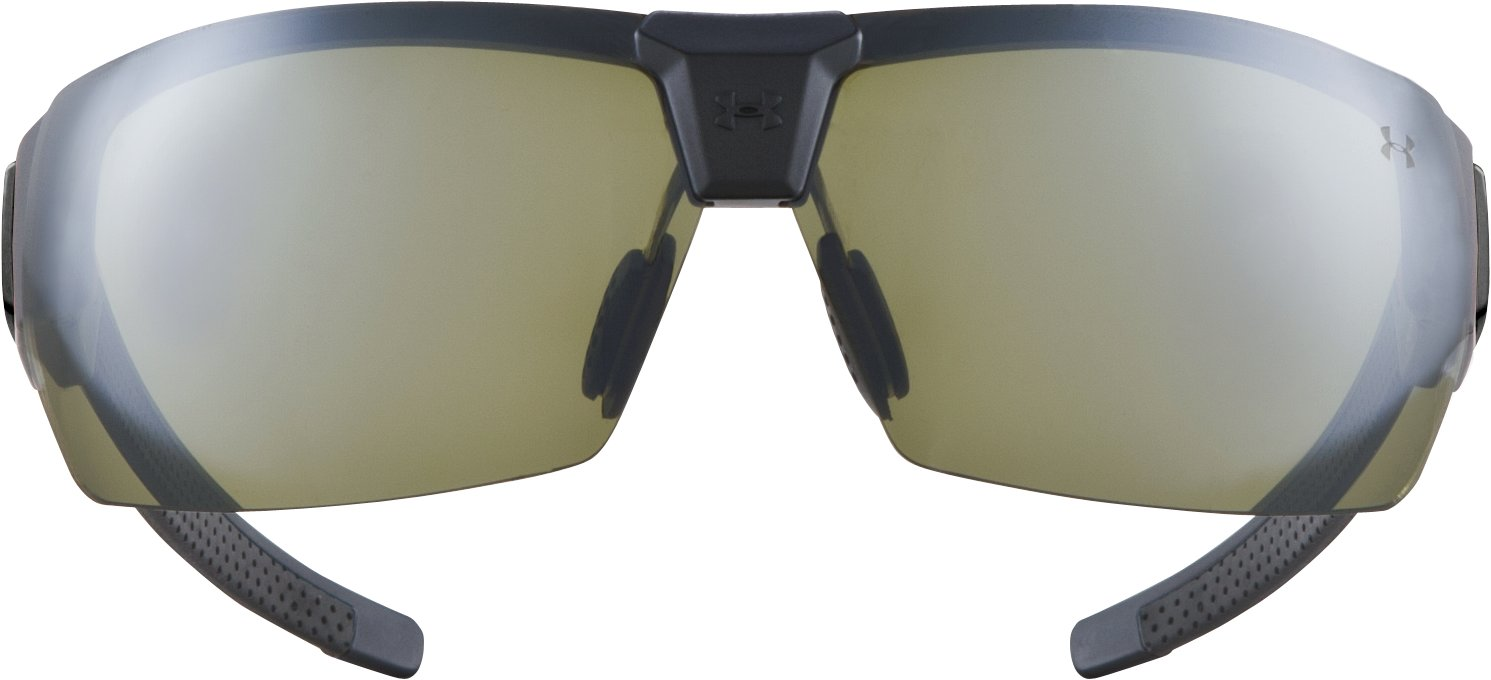 UA Drive Multiflection™ Sunglasses, Satin Black With Print, undefined