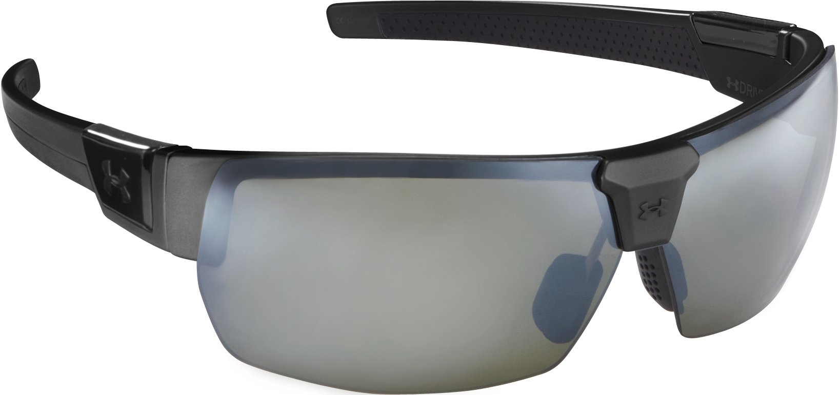 UA Drive Multiflection™ Sunglasses, Satin Black With Print