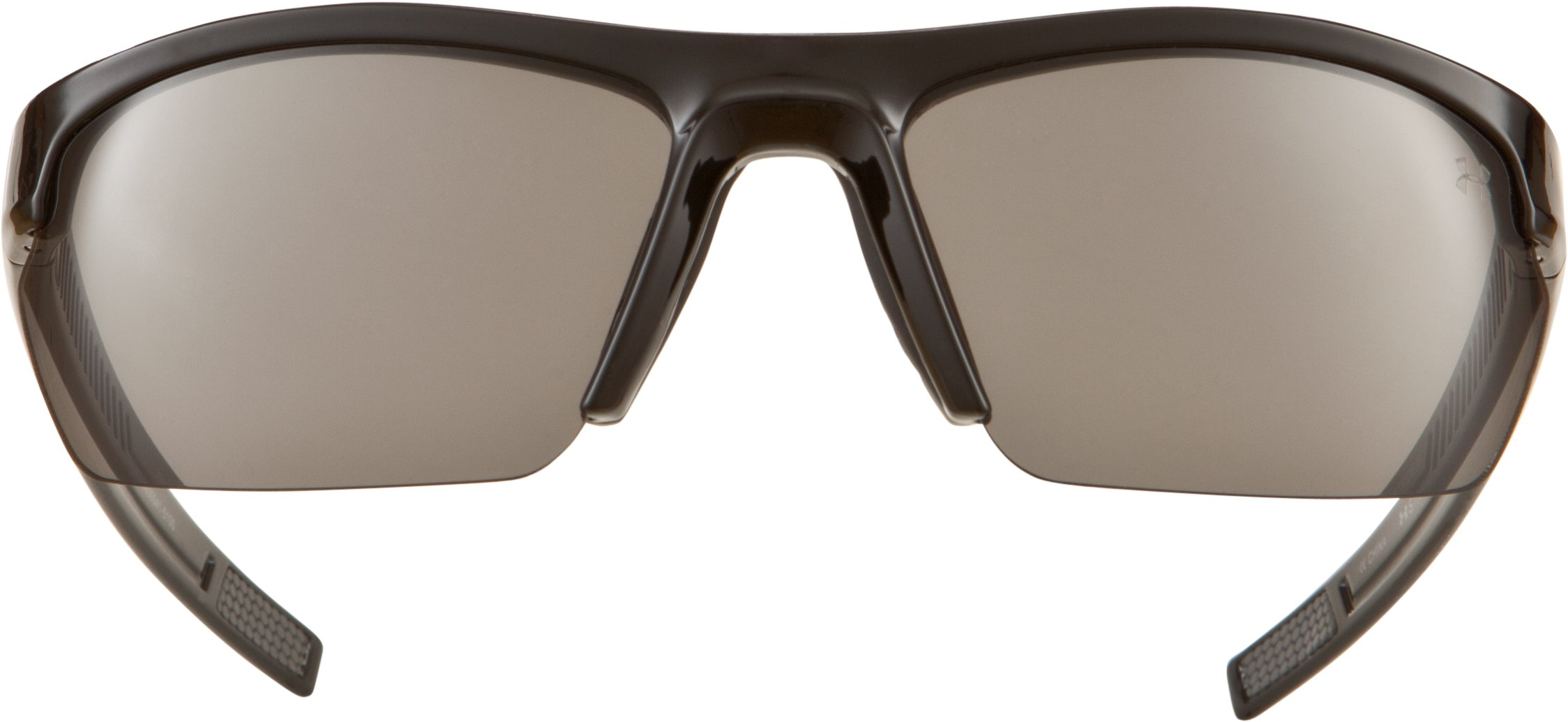 UA Stride XL Sunglasses, Shiny Black,