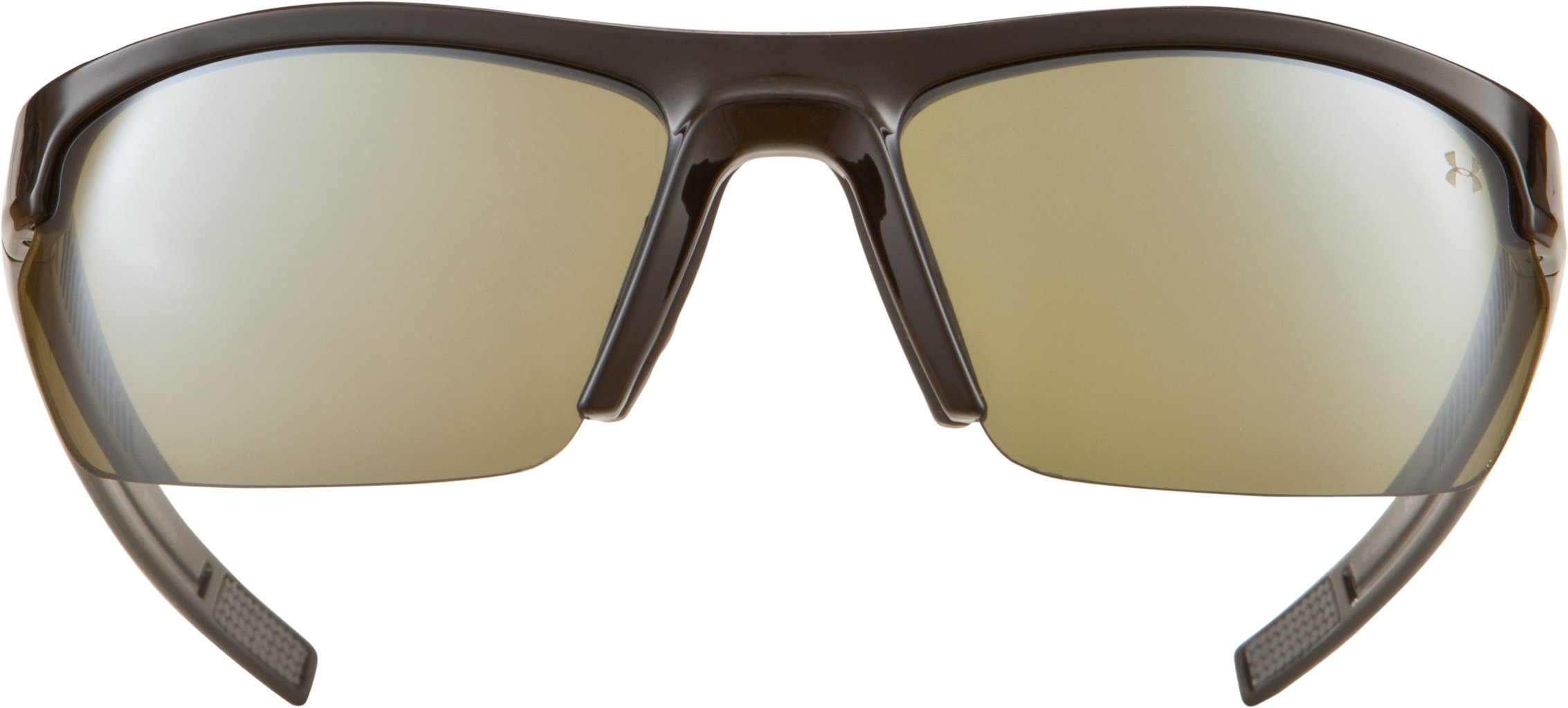 UA Stride XL Game Day Multiflection™ Sunglasses, Shiny Black, undefined