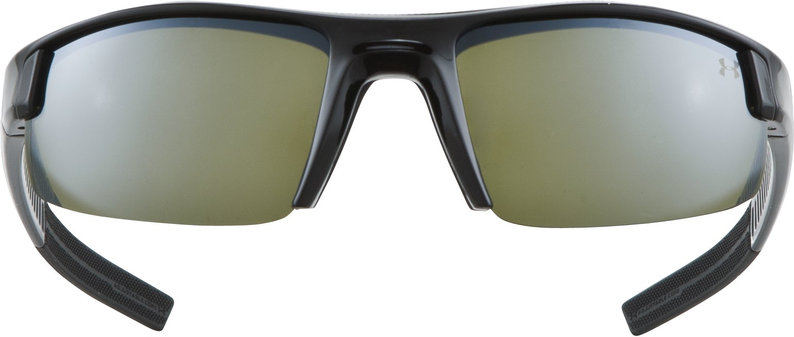 UA Stride Switch Sunglasses, Shiny Black, undefined