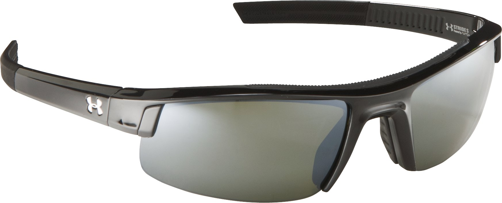 UA Stride Switch Sunglasses, Shiny Black