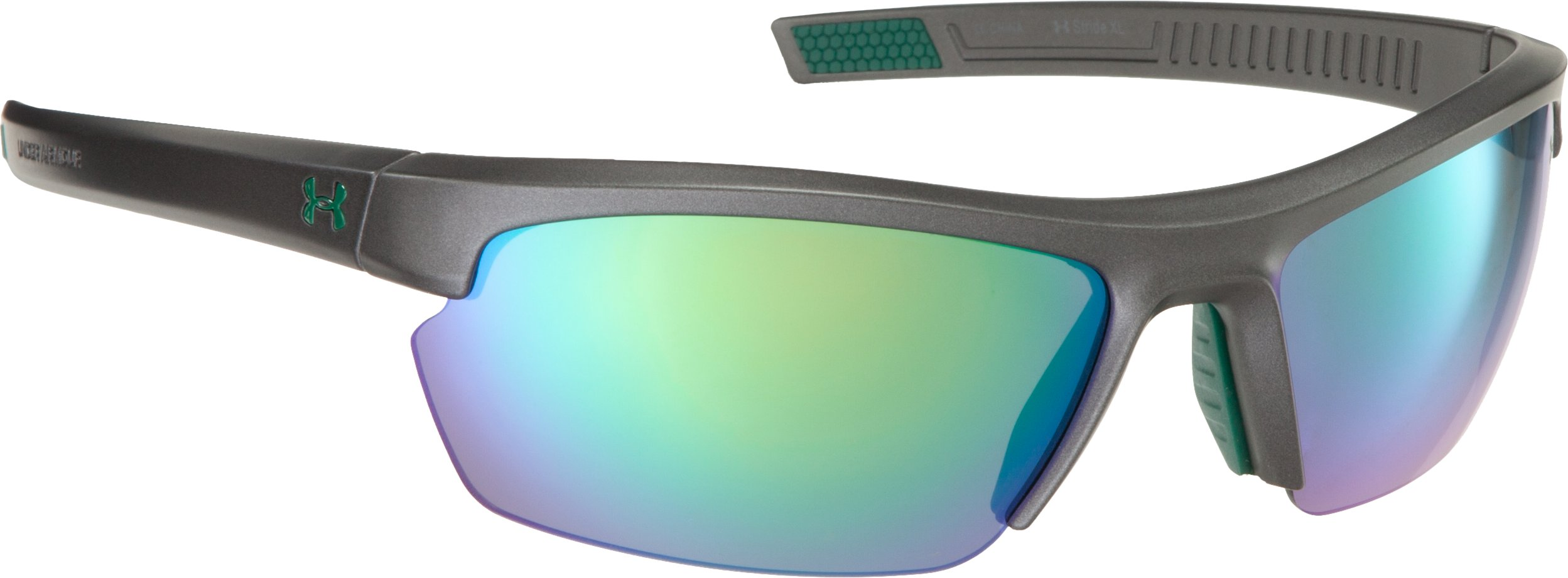 UA Stride XL Multiflection™ Sunglasses, Carbon, zoomed image