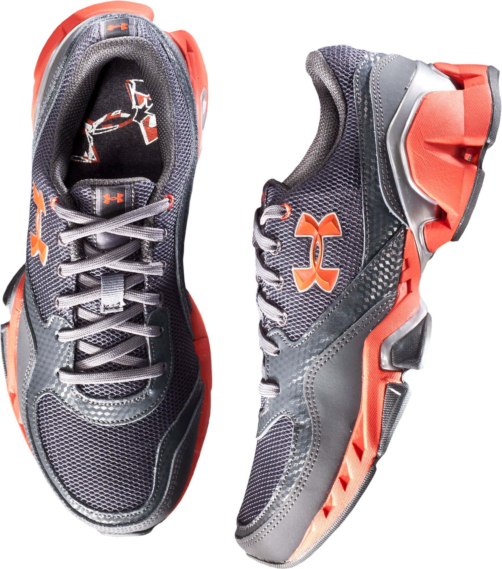 Boys' UA Strive II Grade School Training Shoes, Charcoal
