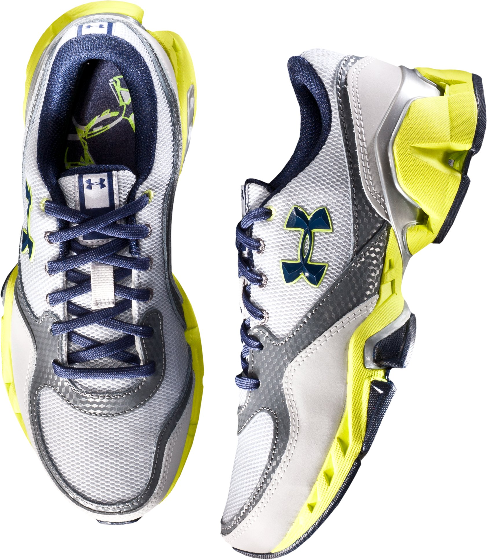 Boys' UA Strive II Grade School Training Shoes, Aluminum