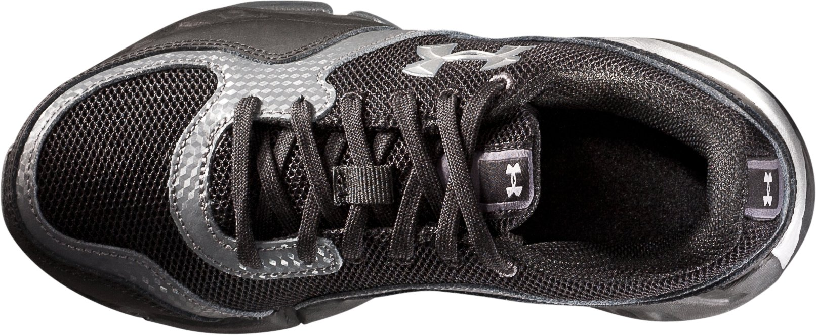 Boys' UA Strive II Pre-School Training Shoes, Black