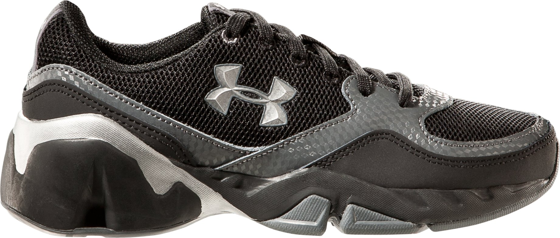 Boys' UA Strive II Pre-School Training Shoes, Black , zoomed image