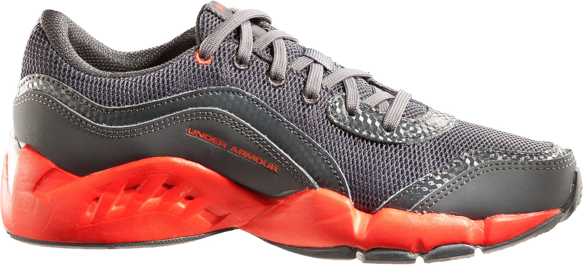 Boys' UA Strive II Pre-School Training Shoes, Charcoal