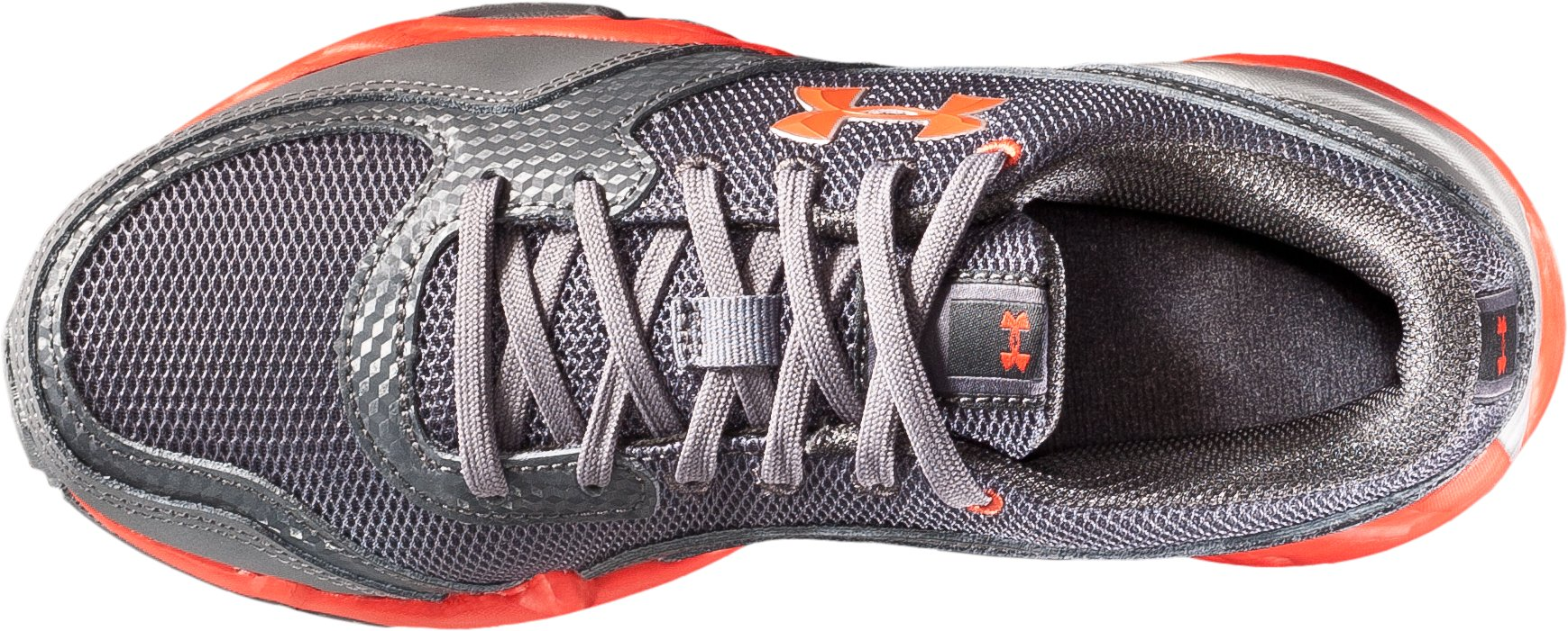 Boys' UA Strive II Pre-School Training Shoes, Charcoal, undefined