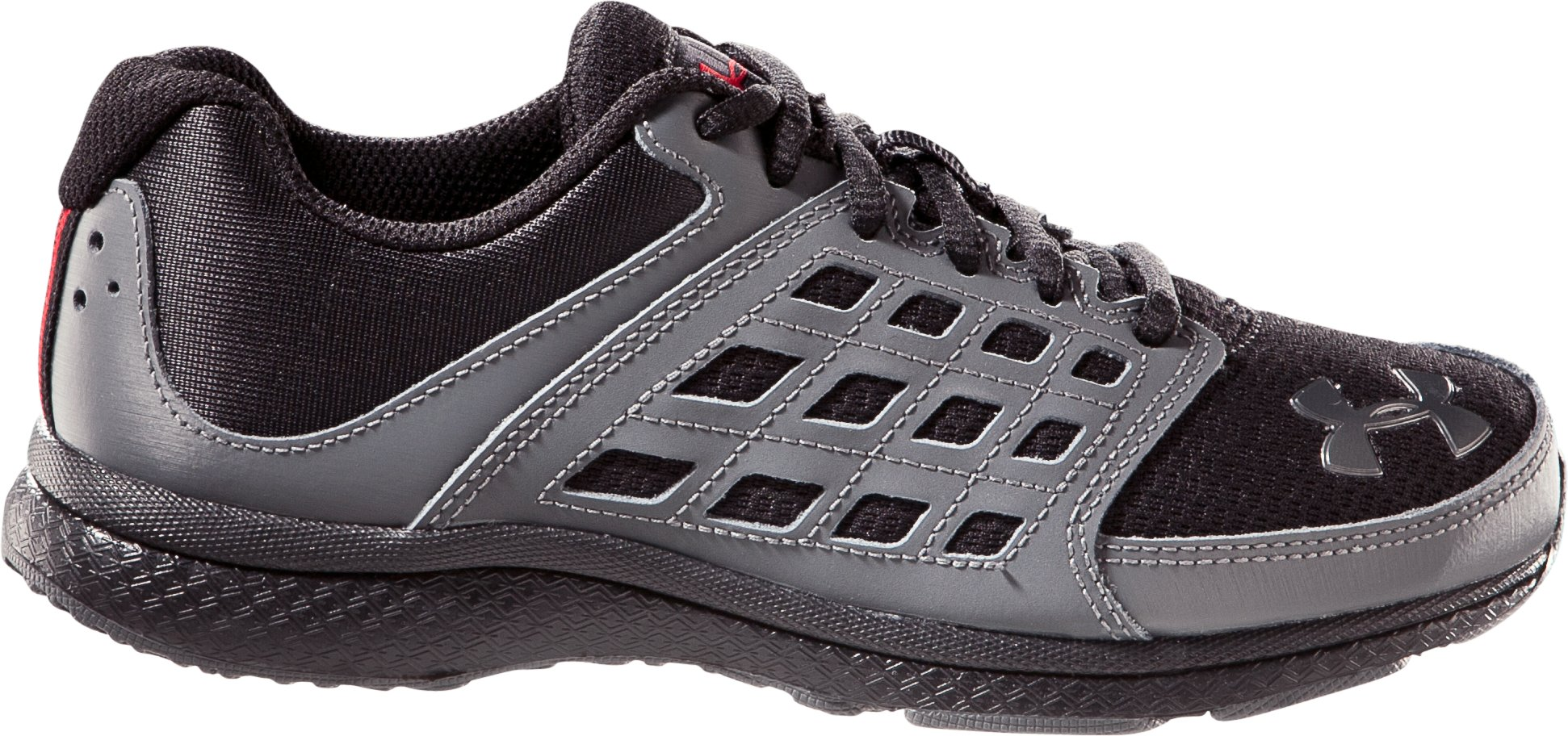 Boys' UA Connect Pre-School Running Shoes, Black
