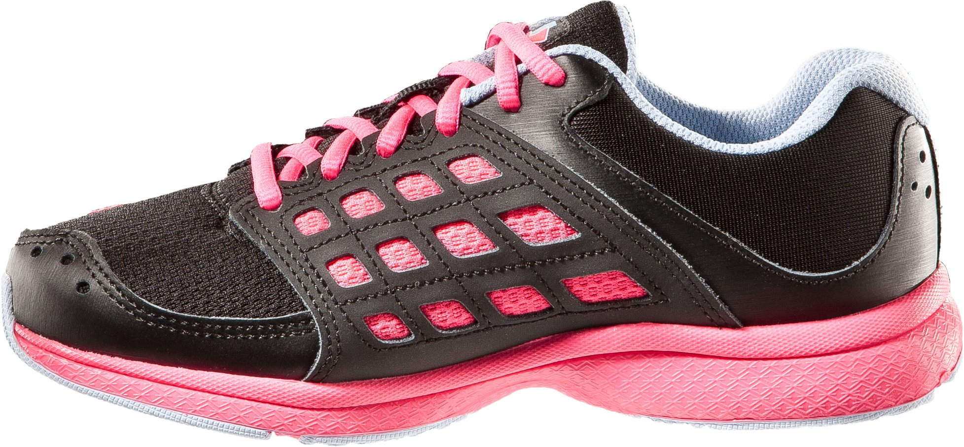 Girls' Pre-School UA Micro G® Connect Running Shoe, Black , undefined